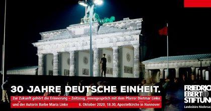 30 Jahre Deutsche Einheit.