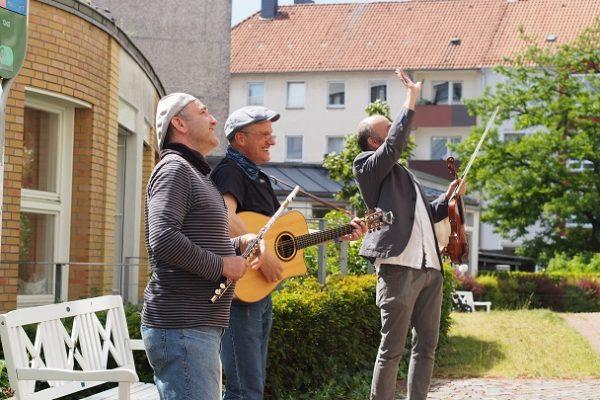 Hofkonzert 29.05.20  im Clementinenhaus Trio Svensson